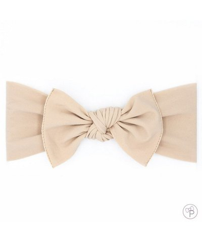 pippa bow small - oat