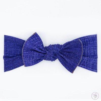 little bow pip denim small
