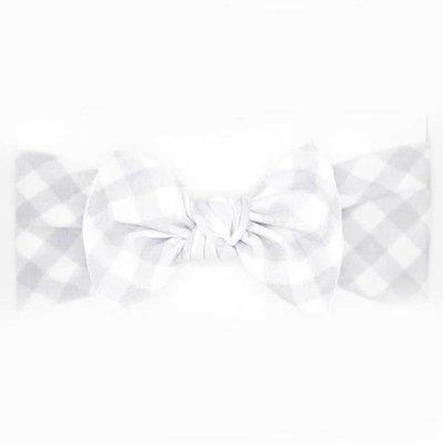 little bow pip bow gingham medium