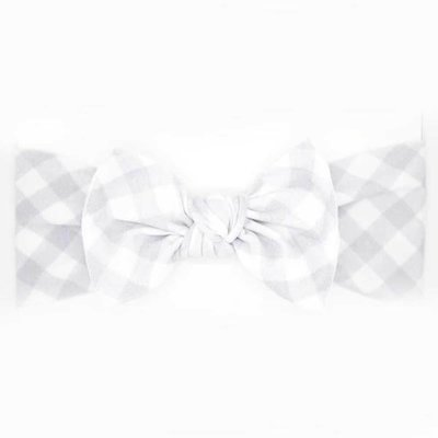 little bow pip bow gingham medium