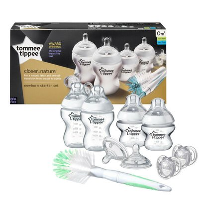 Tommee Tippee Closer to Nature Bottle Feeding Starter Kit