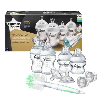 Tommee Tippee Closer to Nature Bottle Feeding Starter Kit