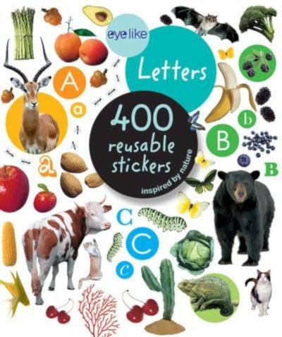eyelike letters stickers
