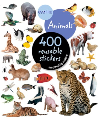 eyelike animals stickers