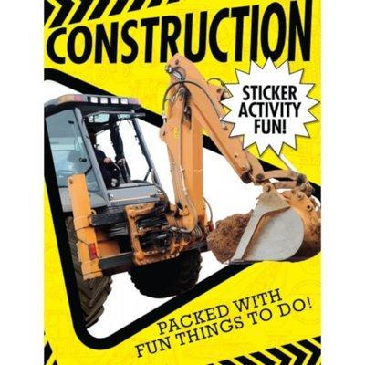 Construction Sticker Book