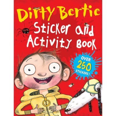 Dirty Bertie Sticker& Activity Book