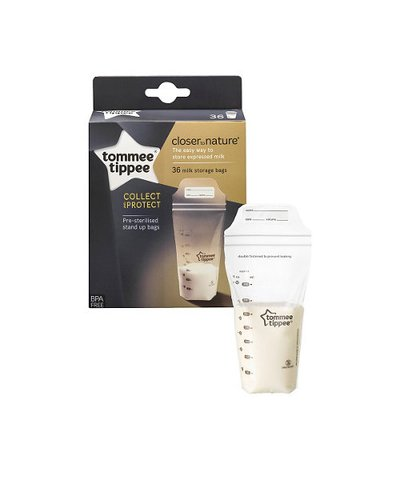 Tommee Tippee closer to nature milk storage bags