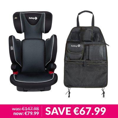Safety 1st Roadfix Car Seat & Backseat Organiser Bundle