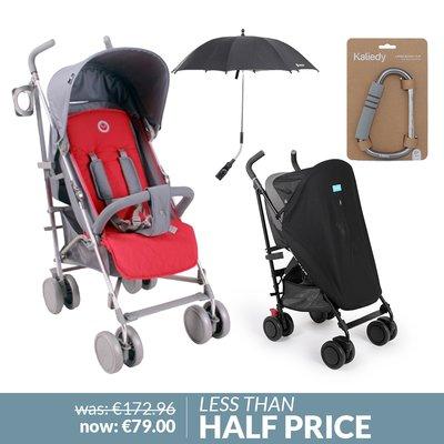 Babylo Sprint Stroller & Accessories Bundle
