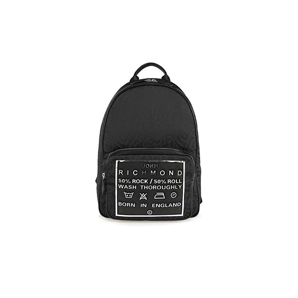 Tattoo Jacquard Label Backpack 004