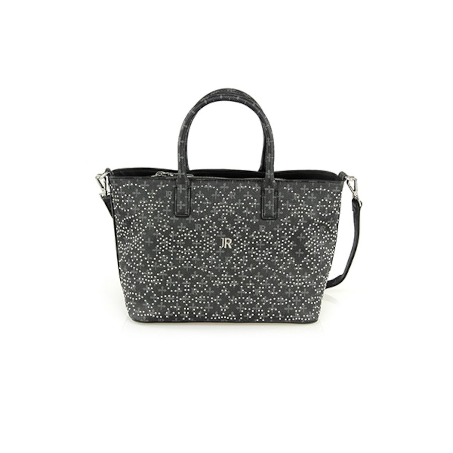 JR Monogram/Studs Bag 001