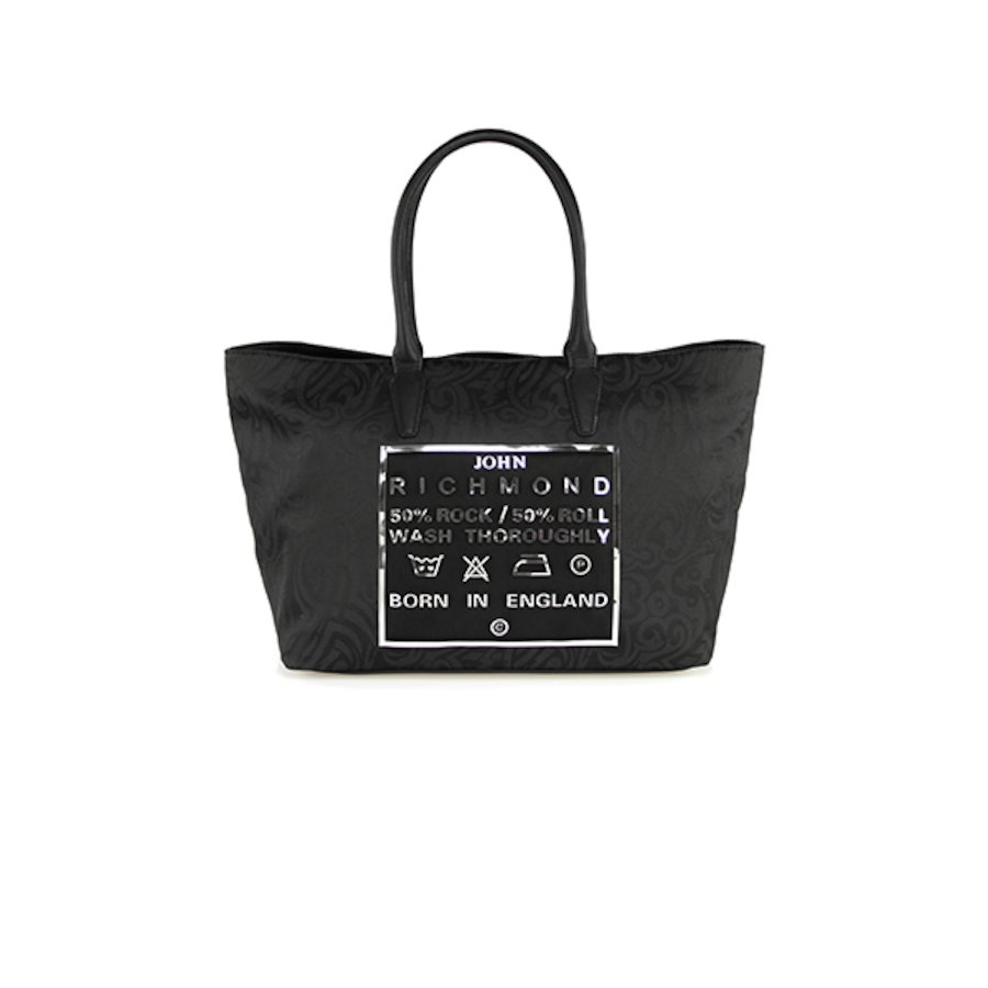 Tattoo Jacquard Label Bag 005