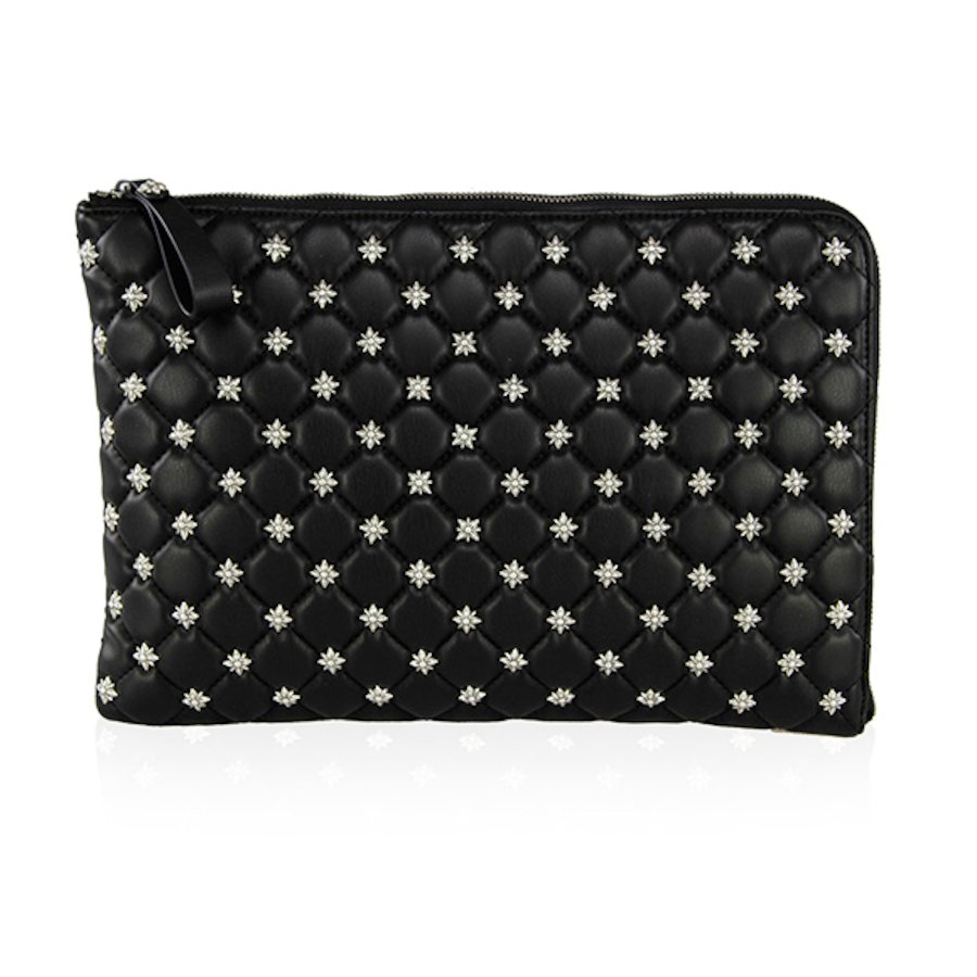 Quilted pu Bag 007