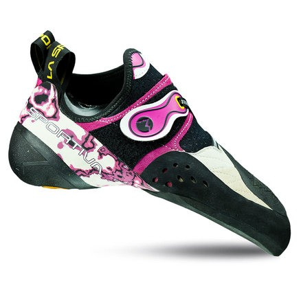 La Sportiva Solution Climbing Shoes Women White/Pink 38 2017 Kletterschuhe mJttjd
