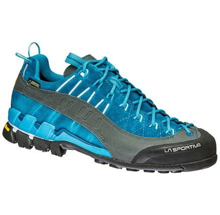 La Sportiva Hyper Gtx® Blau, Damen Gore-Tex® Hiking- & Approach-Schuh, Größe EU 39.5 - Farbe Fjord Damen Gore-Tex® Hiking- & Approach-Schuh, Fjord, Größe 39.5 - Blau