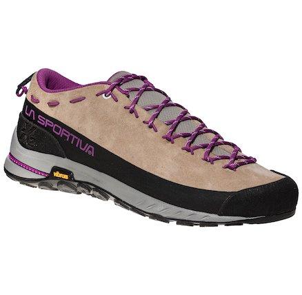 La Sportiva TX2 WOMAN - Climbing shoes - sand/purple YDQC5VuCH