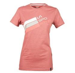 Stripe Logo T-Shirt W