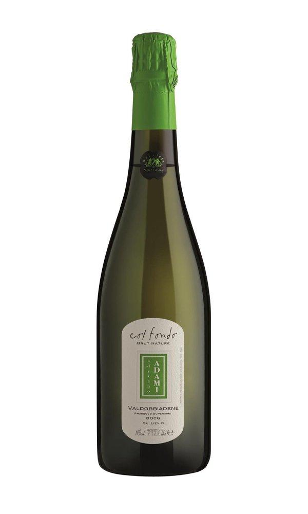 Libiamo - Prosecco Valdobbiadene DOCG Col Fondo Brut Nature by Adami (Italian Sparkling Wine) - Libiamo