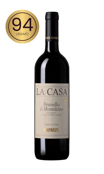 Brunello di Montalcino La Casa 2015 by Caparzo (Italian Red Wine)
