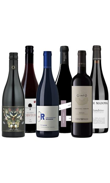 Organic Red Wine Selection (Case of 6)