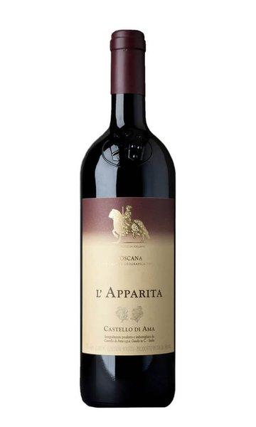 Merlot L'Apparita 2017 by Castello di Ama (Italian Red Wine)