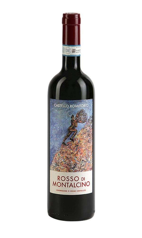 Libiamo - Rosso di Montalcino 2019 by Castello Romitorio (Italian Red Wine) - Libiamo