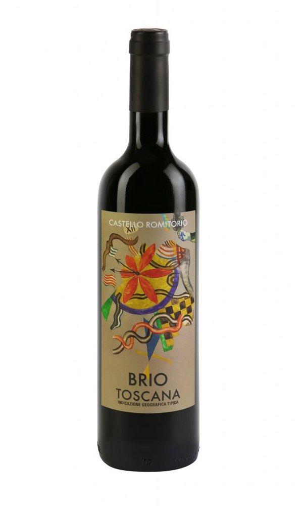 """Libiamo - Castello Romitorio """"Brio"""" Toscana Rosso 2019 by Castello Romitorio (Case of 3 – Italian Red Wine) - Libiamo"""