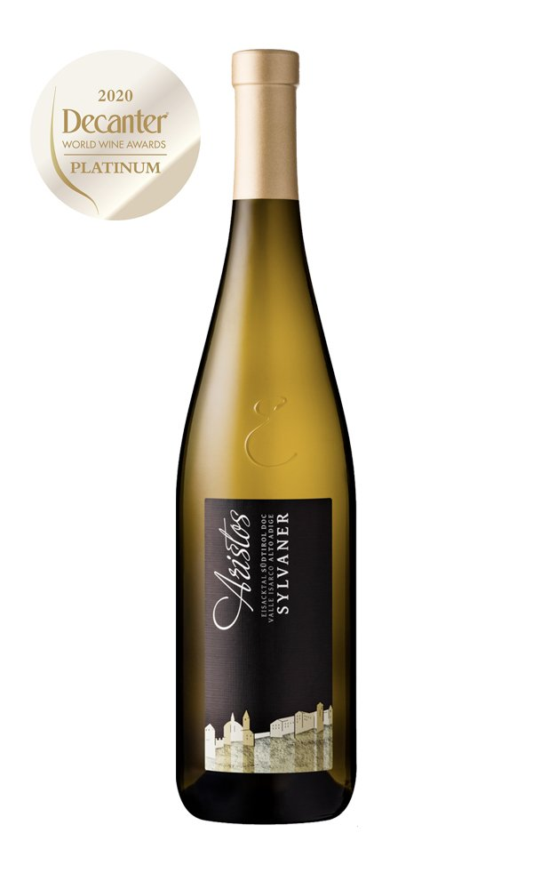 Sylvaner Aristos 2018 by Cantina Valle Isarco (Case of 6 - Italian White Wines)