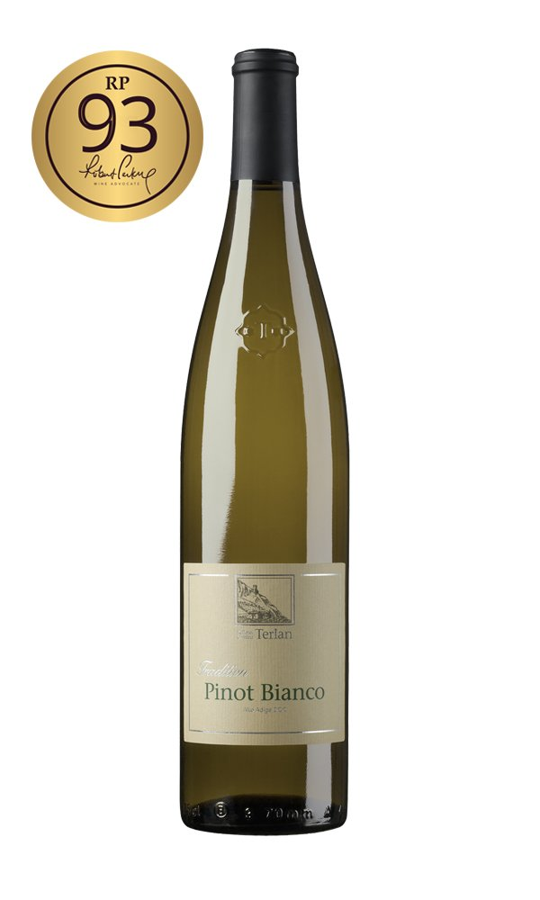 Pinot Bianco Classico 2019 by Cantina Terlano (Case of 6 - Italian White Wine)