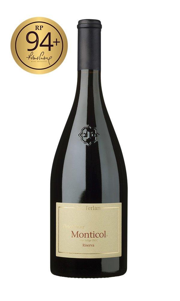 Pinot Noir Riserva Monticol 2017 by Cantina Terlano (Case of 6 - Italian Red Wine)