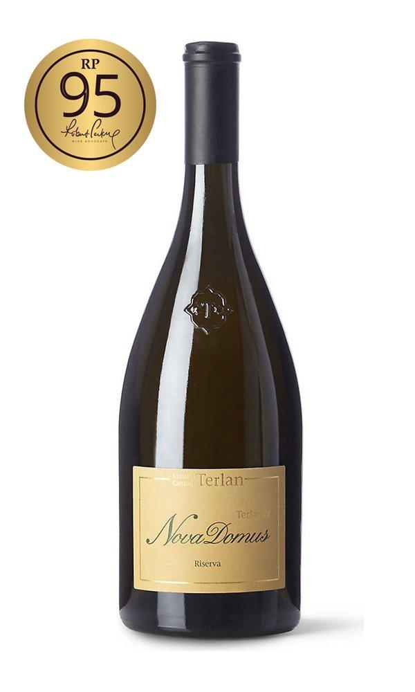Nova Domus Terlaner Magnum 2017 by Cantina Terlano (Case of 4 – Italian White  Wine)