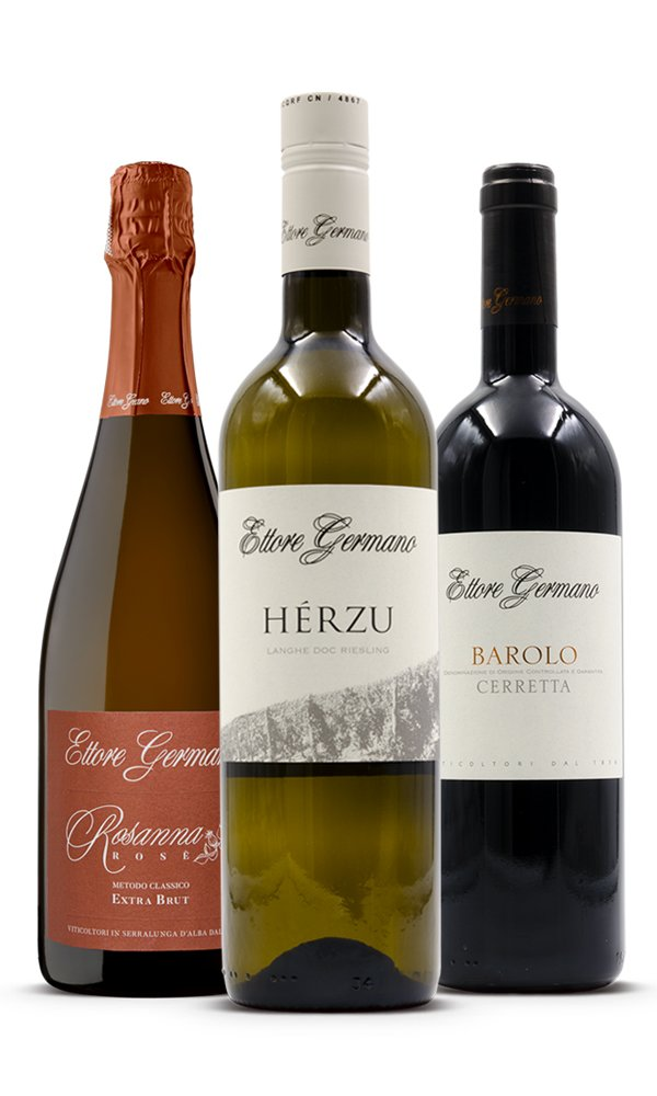 Ettore Germano Barolo Live Tasting 29/01/2021 - Ticket for 2 & Mixed Case (Case of 3 by 750ml each)