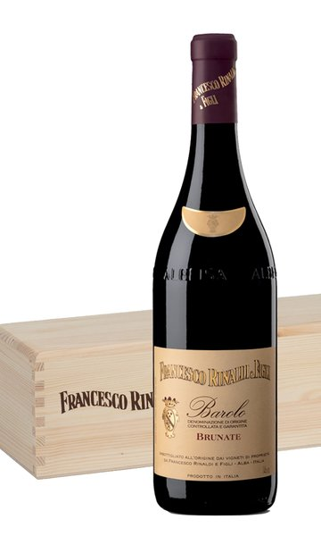 Barolo Brunate 2016 Magnum by Francesco Rinaldi Wooden Gift Box (Italian Red Wine)
