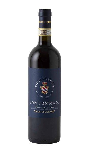 Chianti Classico Don Tommaso Magnum Villa Le Corti by Principe Corsini (Italian Red Wine)