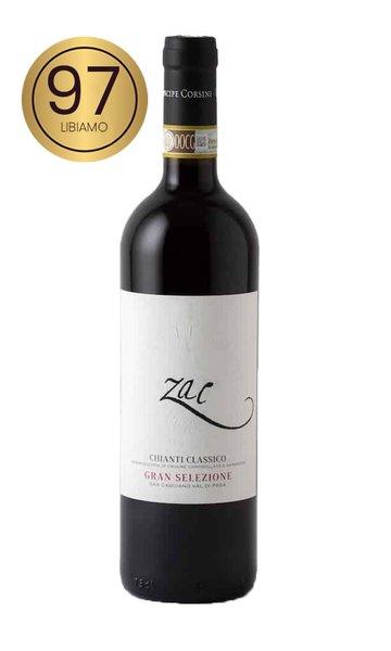 """Sangiovese """"Zac"""" Le Corti by Principe Corsini (Italian Red Wine)"""