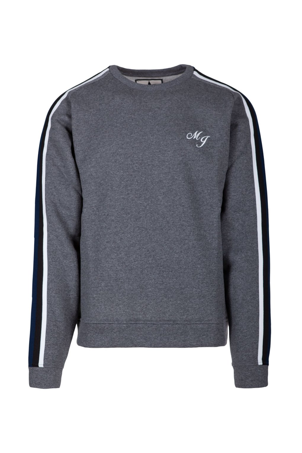 Crewneck Sweatshirt with Side Bands