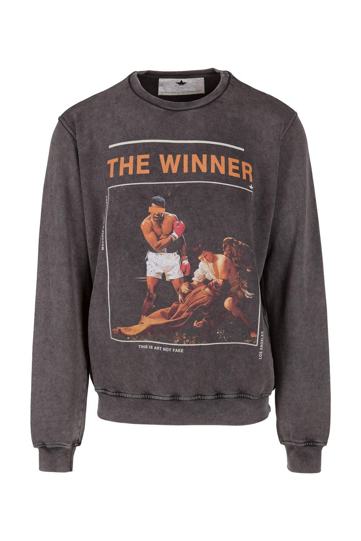 Crewneck Sweatshirt Macchia J Art Gallery