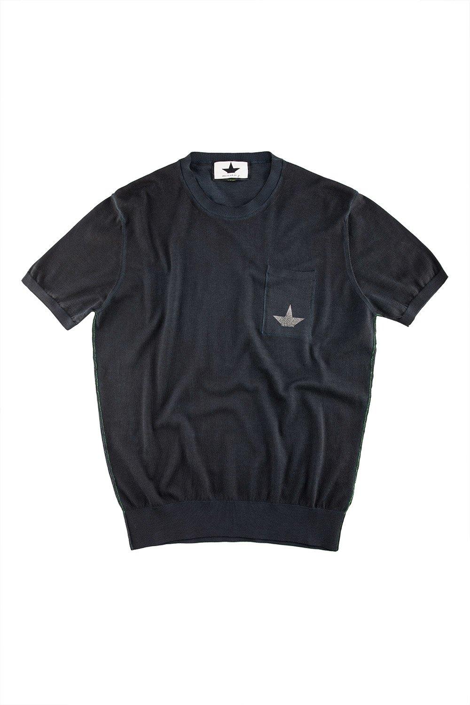 Maglia Maniche Corte Taschino con Logo