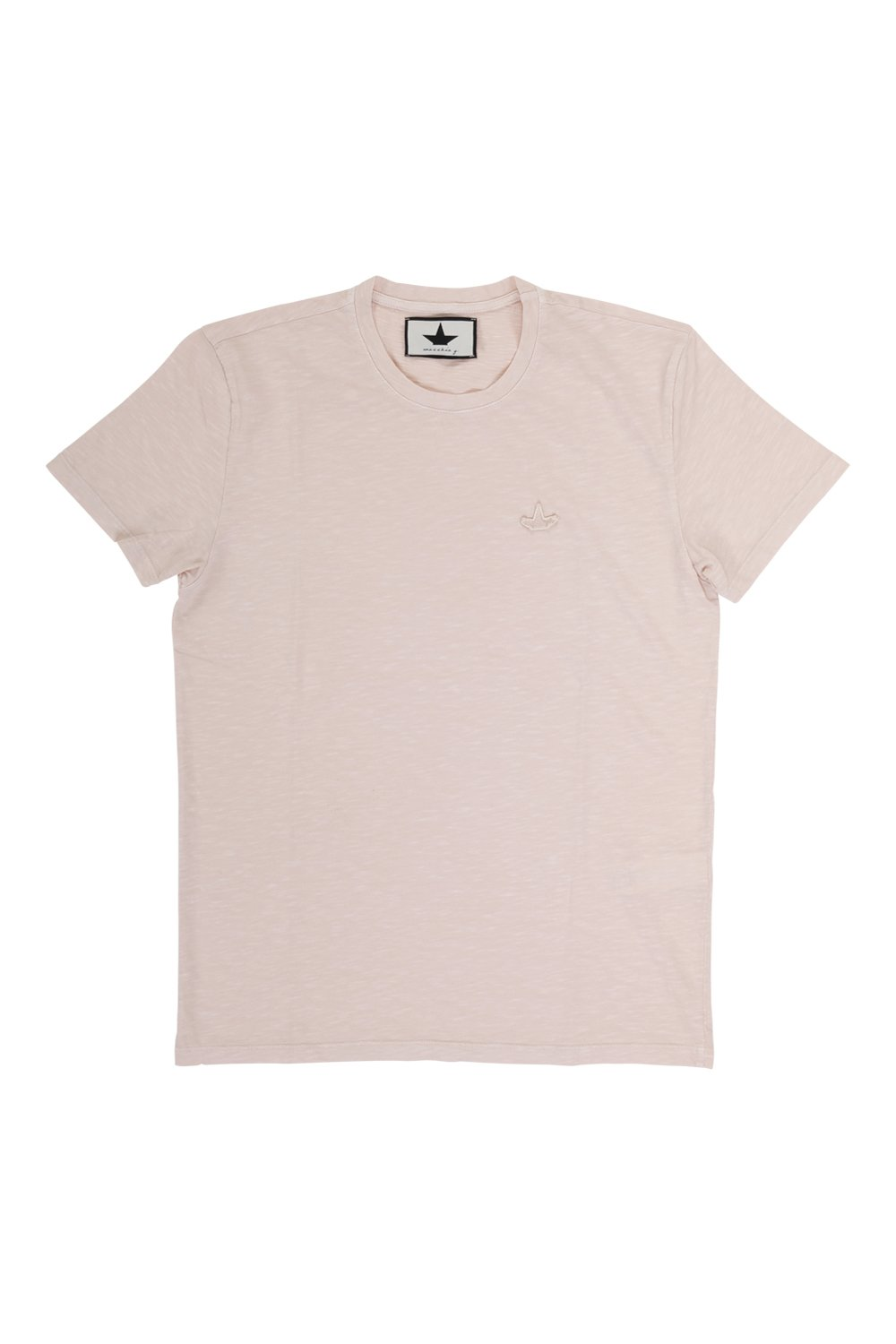Basic T-shirt in flamed jersey