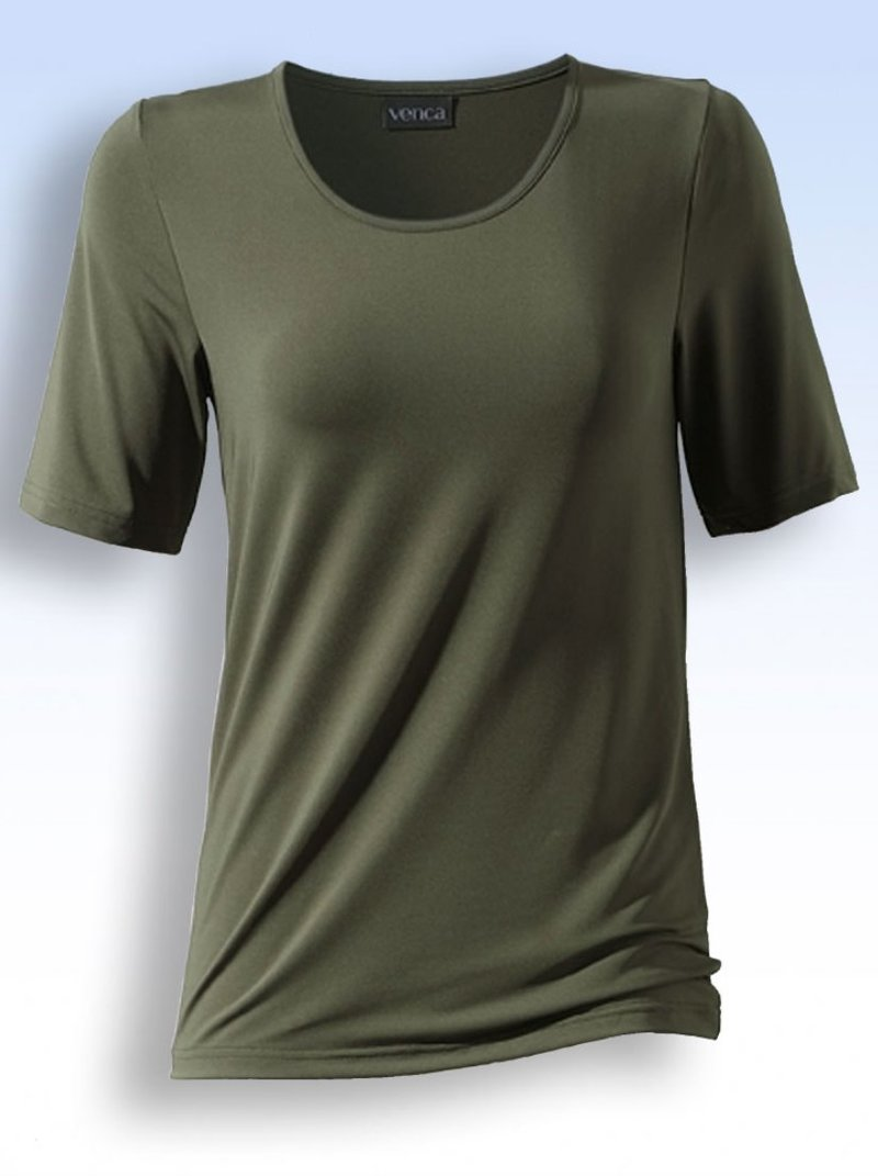 Camiseta manga corta escote redondo
