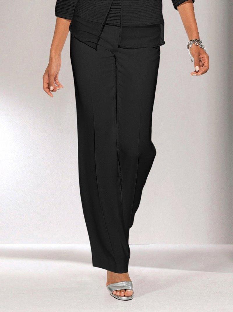 Pantalón largo mujer de vestir - Negro