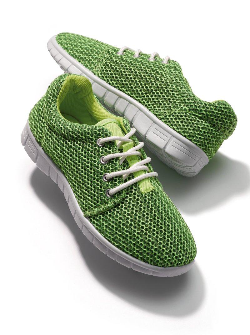 Zapatillas deportivas acolchadas verde