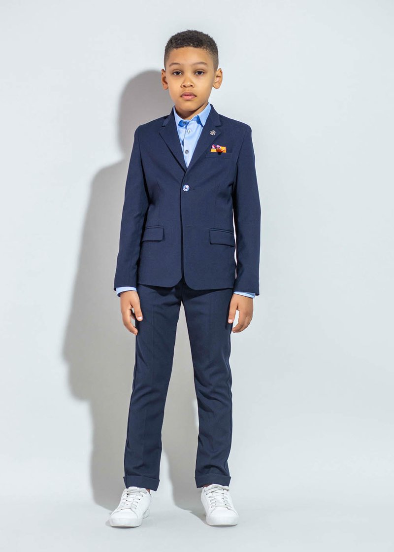 KIDS' PLEATED TROUSERS