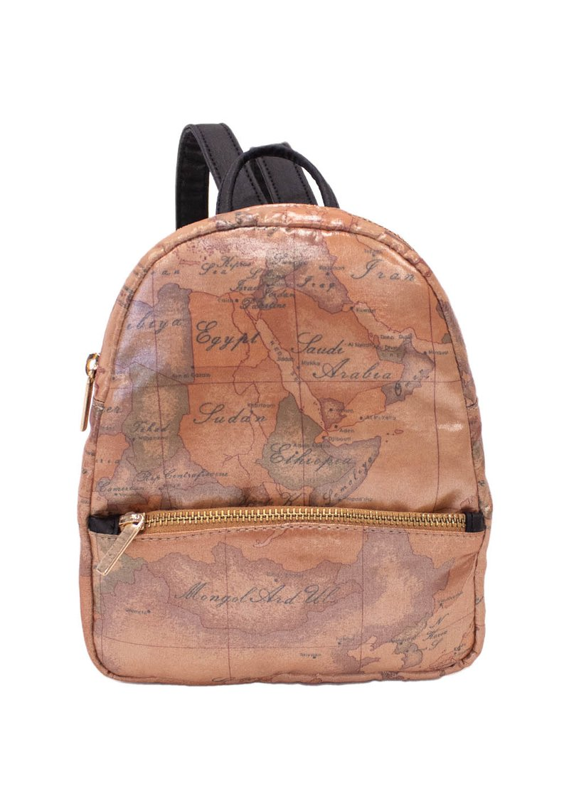 BACKPACK WITH GEO PRINTING