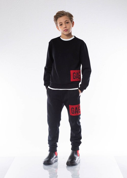 BOY'S SWEATPANTS WITH EMBROIDERE LOGO