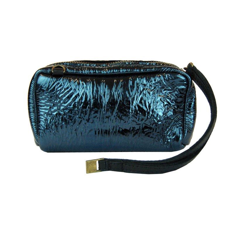 Pochette Laminated Leather