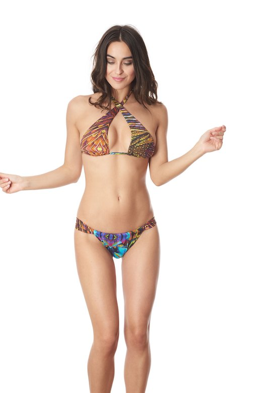 TRANSFORMER TRIANGLE BIKINI - Plam+Kabl