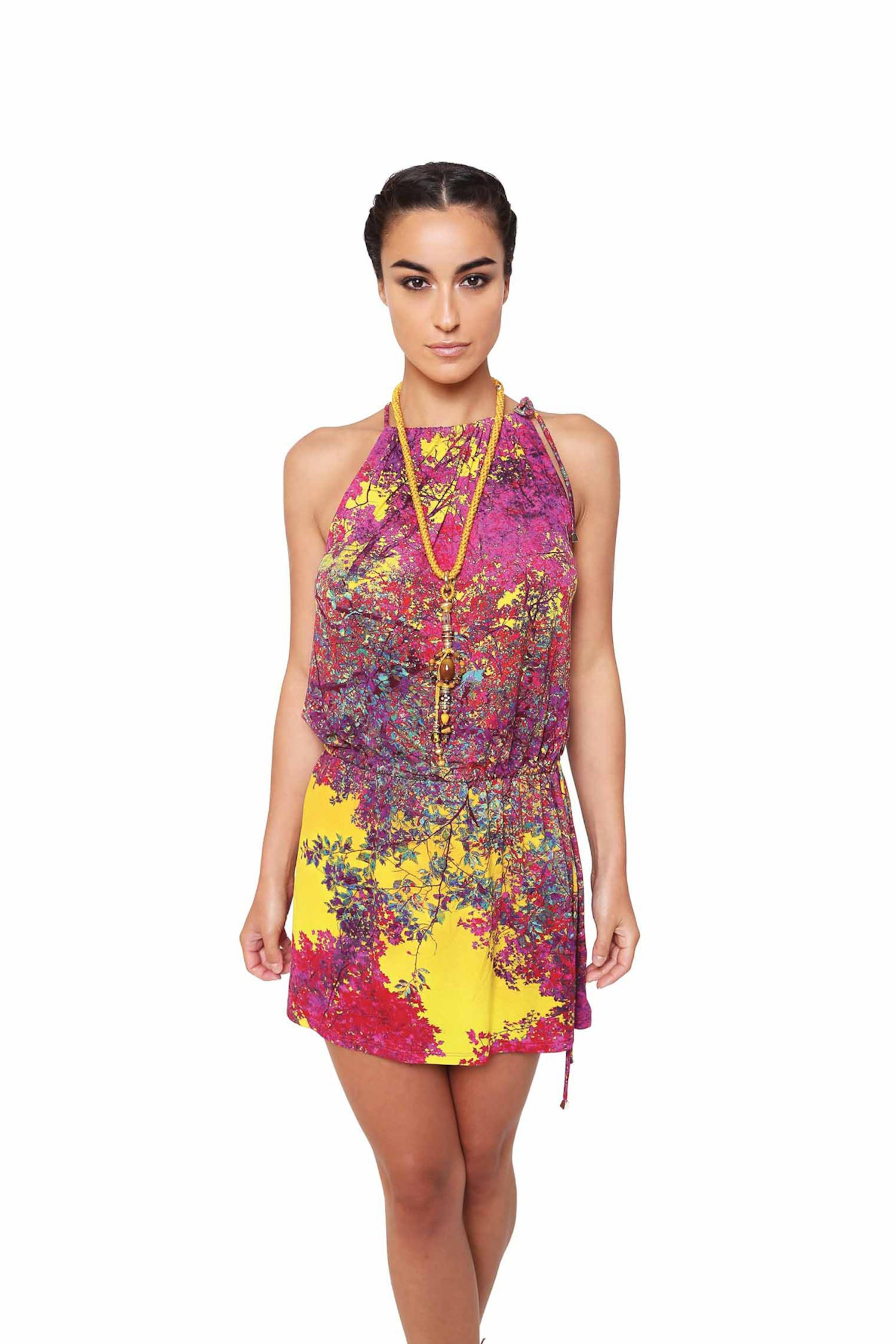 MINI DRESS - Albero Giallo