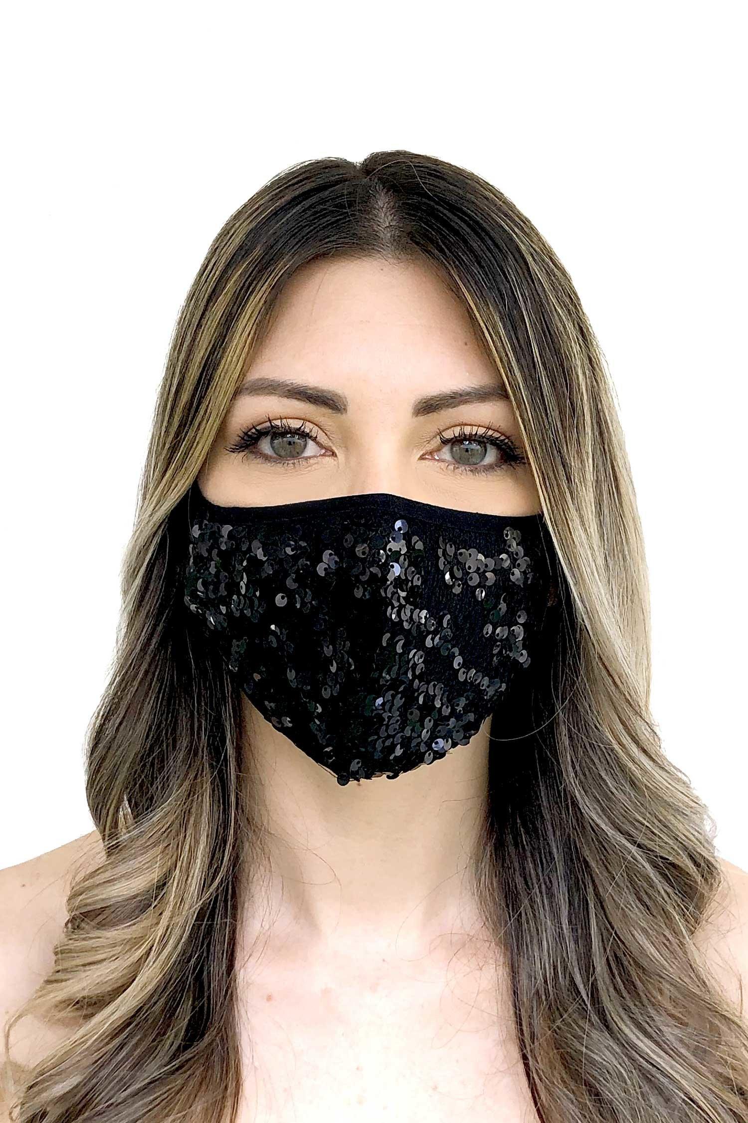 Cloth face mask - Nero