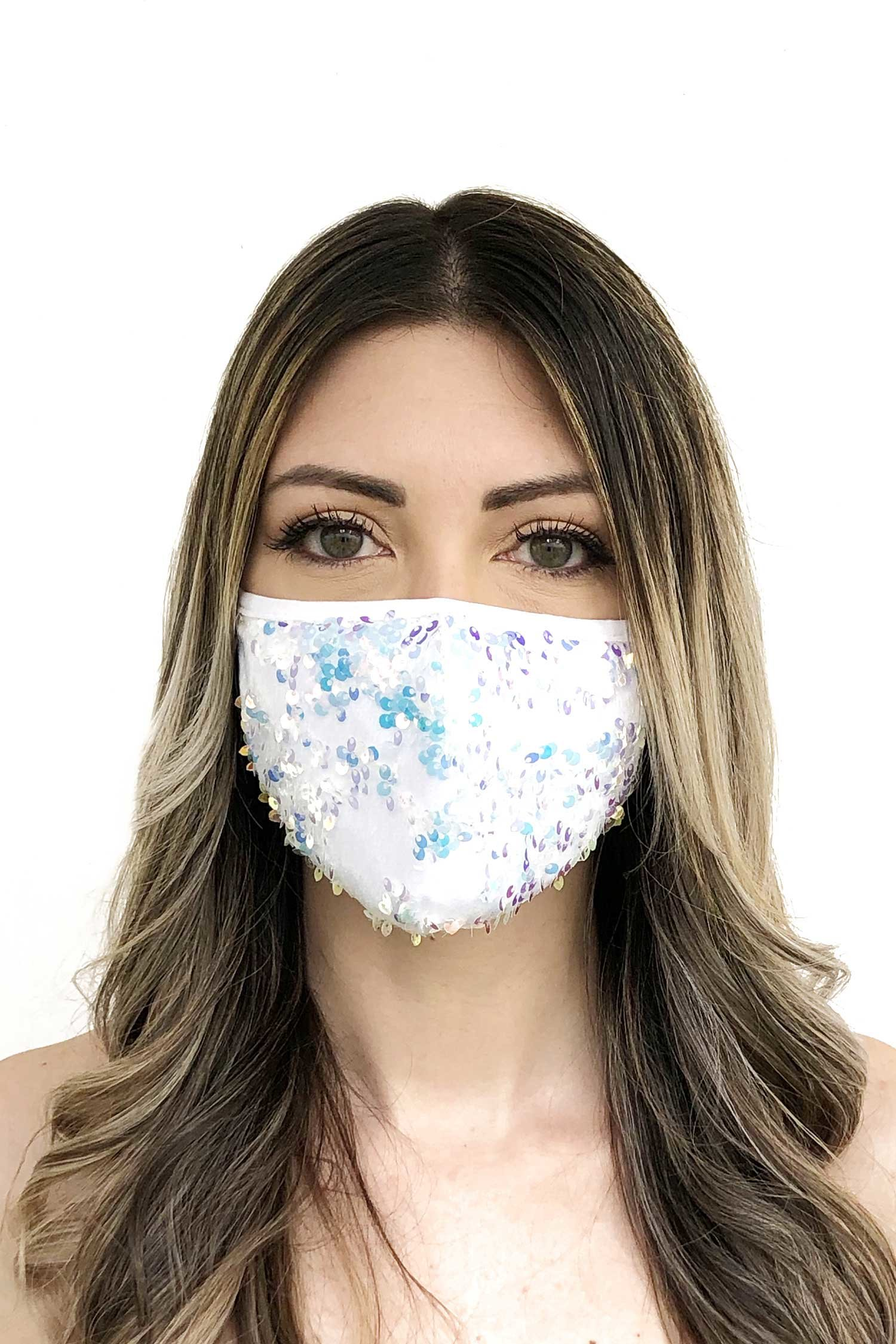 Cloth face mask - White